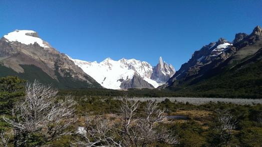Blick auf den Cerro Torre