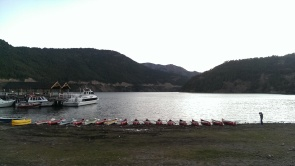 Kayakshow in San Martin de los Andes