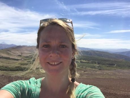 Ich hab's geschafft! - oben auf dem Cerro Colorado
