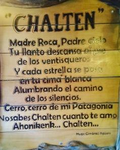 Gedicht über El Chalten