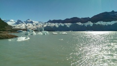 Südseite des Perito Moreno vom Schiff aus
