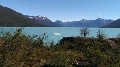 schwimmende Eismassen auf dem Lago Argentino