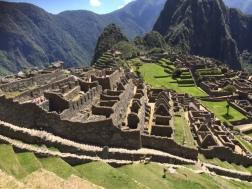 Die Ruinen des Machu Picchu