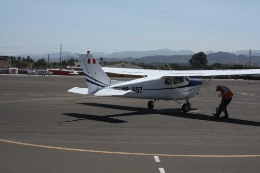 Unser kleines Flugzeug