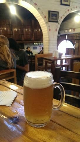 Bier aus der einheimischen Brauerei in Quito