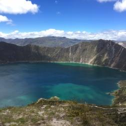 Der Kratersee von Quilotoa