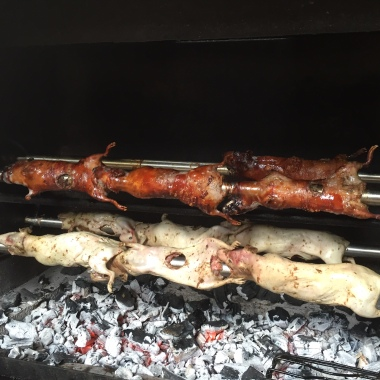 Meerschweinchen vom Grill