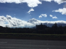 Der Vulkan Cotopaxi