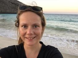 Selfietime on the beach of cormorant point