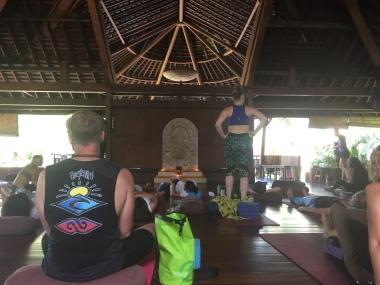 Yogabarn: before class - it will get fuller - I promise