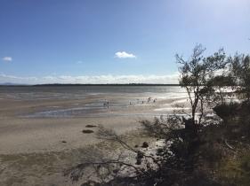 Fluss in der Nähe von Port Albert & Alberton