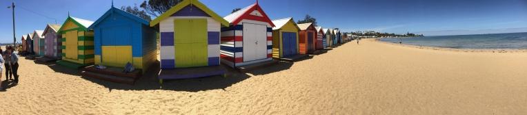 Pano der Beach Huts