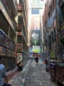 Hosier Lane - die berühmte Graffiti-Strasse
