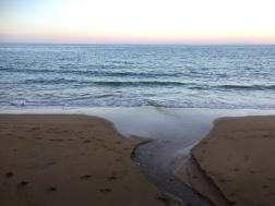Sonnenuntergang in Burnie