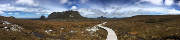 Panorama Cradle Mountain