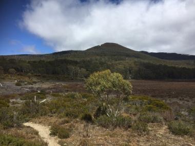Mount Rufus im Hintergrund