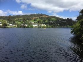 Huonville und Huon River