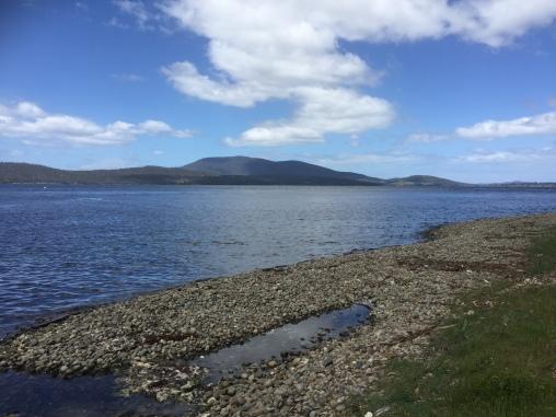 Sicht auf die Bruny Island