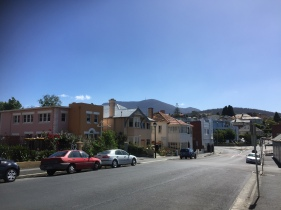 Battery Point und Mount Wellington