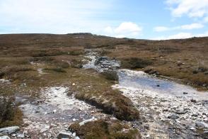 Fluss auf dem Hochplateau