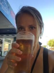 ...und ein Bierchen dazu. Prost!