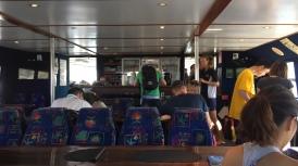 An Board der Seaquest - die meisten sind draussen, es war rappelvoll!