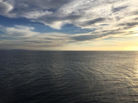 Sonnenuntergang am Reef