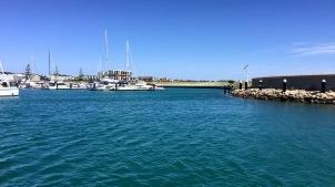 Hafen von Coogee von hier aus ging es mit dem Schiff nach Rottnest
