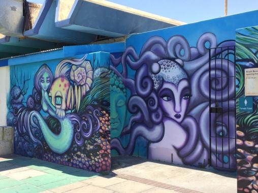 Streetart Coogee Beach